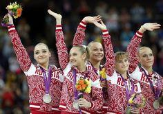 Team Silver for Russia
