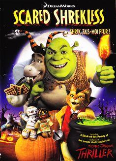 Shrek, fais-moi peur ! (Scared Shrekless) est un téléfilm américain d'animation de format court, issu de la franchise Shrek et diffusé pour la première fois le 28 octobre 2010. Halloween est le jour favori de Shrek ! Il se délecte déjà à l'idée de passer une nuit effrayante…à sa façon ! Au lieu d'user des farces habituelles ou d'offrir les traditionnels bonbons, Shrek fait monter les enchères et met au défi l'Âne, le Chat Potté et tous ses autres amis de passer la nuit dans le château hanté…