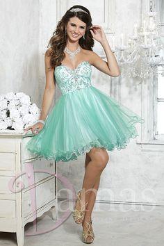 US$169.99 Wholesale 2016 Prom Dress Sage Organza Homecoming Cocktail Dress Damas 52344 from - US.homecomingnightgirl.com