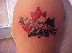 Canadian Tattoos And Designs-Canadian Tattoo Meanings And Ideas-Canadian Tattoo Pictures Tattoo Meanings, Tattoos With Meaning, Canadian Tattoo, Body Mods, Picture Tattoos, Tattos, Meant To Be, Canada, Symbols