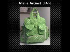 Bolsa Green,Como fazer uma mochila maternidade com trocador - YouTube