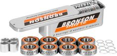 Bronson G3 Bearings Single Set With Spacers + Washers – Bakerized Action Sports