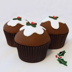 The 60 Best Christmas Cupcake Ideas Images On Pinterest Christmas