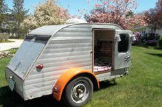 1957 Serro Scotty Teardrop camper RARE Find Vintage Camper, serro began prod. in 58 .