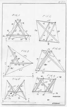 p. 1 from Snelson's 1962 patent drawings