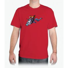 Jetpack Unicorn - Mens T-Shirt