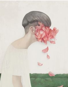 Hsiao Ron Cheng art with flowers | Casa Atelier Blog |