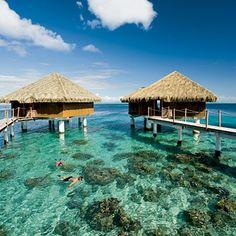 Te Tiare resort, Huahine, French Polynesia