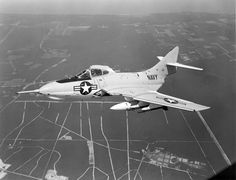 The Grumman F9F/F-9 Cougar was an aircraft carrier-based fighter aircraft for the United States Navy. Based on Grumman's earlier F9F Panther, the Cougar replaced the Panther's straight wing with a more modern swept wing. The Navy considered the Cougar an updated version of the Panther, despite having a different official name, and thus Cougars started off from F9F-6 upward.