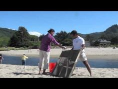 "▶ ""Sand Painting"" workshop with Judy Vogland - 2012 - YouTube"
