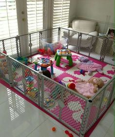My Son S Play Pen Diy My Diy Projects Pinterest