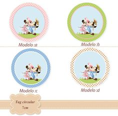 Páscoa Minnie e Mickey