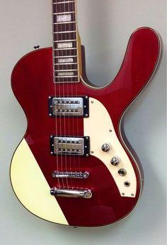 Musicvox Spaceranger Custom Series Only 4 Numbered Red Metallic Guitars Made