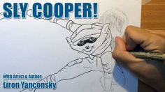 How to Draw Sly Cooper: Step By Step (2016 Film Version) http://lironyan.com/