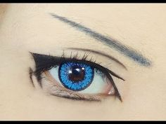 Tutorial : Anime Eye Makeup 50 Reminds me of Fushimi's eyes!  Which means it's perfect for me!