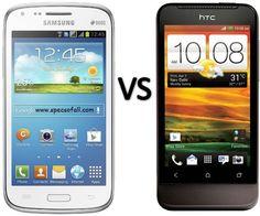 Compare Samsung Galaxy Core vs HTC One V