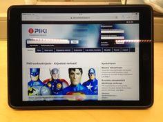 PIKI-verkkokirjaston käyttö ja opastus