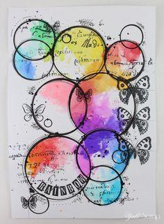 Art journal {rainbow}