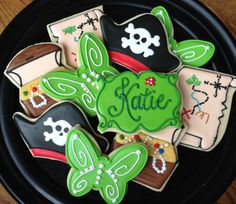 Pirate and Pixies Sugar Cookie Collection by NotBettyCookies, $48.00