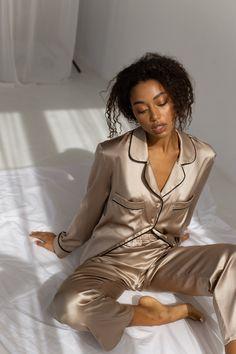 Cute Sleepwear, Sleepwear Women, Pajamas Women, Silk Sleepwear, Cute Pajama Sets, Cute Pajamas, Cute Pjs, Silk Pajama Sets, Silk Pjs