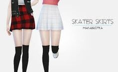 Image result for the sims 4 cc checkered skirt