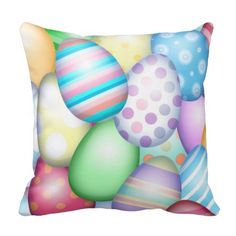 Easter Eggs Pillows