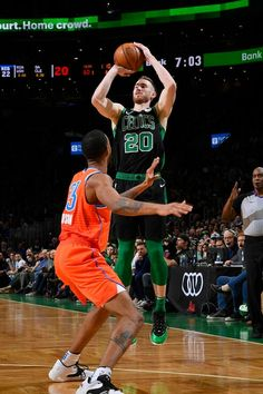 View photos for Photos: Thunder vs. Thunder Vs, Nba Basketball Teams, Boston Celtics, Nba Players, View Photos, In This Moment, Sports, Closet, Hs Sports