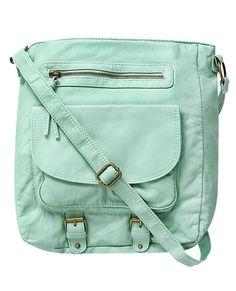 Sea-foam Colored Bag