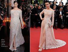 Li Bingbing In Elie Saab Couture – 'Carol' Cannes Film Festival Premiere