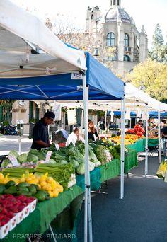 farmer's market near Mission Inn, Riverside, CA