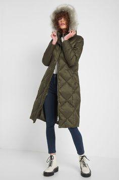Puchowa kurtka z kapturem - Zielony Winter Jackets, Fashion, Winter Coats, Moda, Winter Vest Outfits, Fashion Styles, Fashion Illustrations