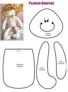 Corner Titi (Moldes y riesgos para la artesanía): ****** Doll Moldes