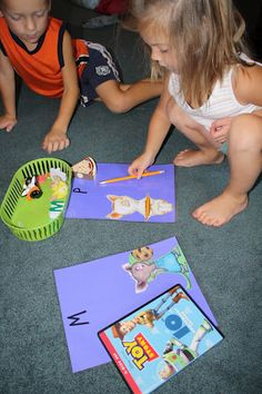C, M and P Letter recognition- If you give a Mouse a Cookie, If you give a Pig a pancake
