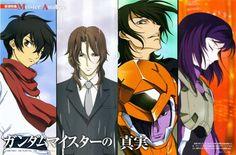 Tags: Anime, Mobile Suit Gundam 00, Setsuna F. Seiei, Tieria Erde, Allelujah Haptism