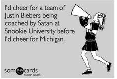 Michigan sucks - ecard