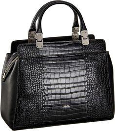 Picard Angelina Damentasche Schwarz (innen: Grau) - Handtasche
