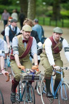 Twins! The Tweed Run London 2014 by Tweed Run - Exposure