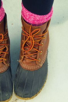 Bean boots! Guess I have to buy them for myself bc I didn't get them for Christmas