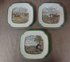 16 Best The Hunt China By Spode Images Antique Plates Deer