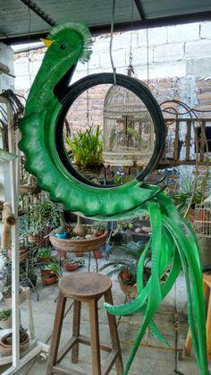 Quetzal de llanta