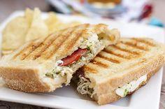 Pesto Chicken Panini ... I love these flavorful sandwiches!!