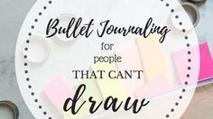 bullet journal title page