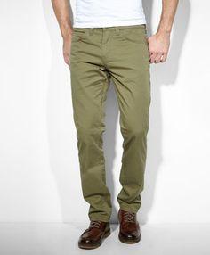 511 Slim Fit Line 8 Pants - Ivy Green - Levis - levi.com