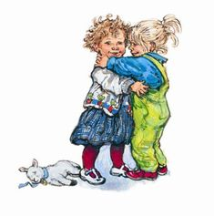 Shirley Hughes Childrens Illustration Mounted Art Prints