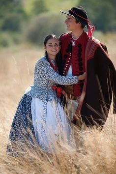 Photo via Zpit Ziemia Żywiecka. Folk Costume, Costumes, Polish Clothing, Polish People, Polish Folk Art, Art Populaire, Folk Dance, People Around The World, Traditional Dresses