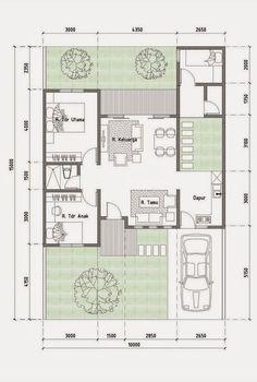 Ideas For House Plans Planos De Casas Modernas Sims 4 House Plans, Dream House Plans, Modern House Plans, Small House Plans, House Floor Plans, Home Design Floor Plans, Home Room Design, House Front Design, Small House Design