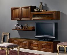 mobile porta tv dal design moderno n.51   arredare living ... - Soggiorno Arte Povera Moderno