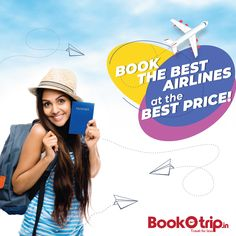 BookOtrip offers cheap airtickets to destinations across the globe. Enjoy great discounts on airtickets and hassle-free online flight booking. Buy Flight Tickets, Sell Tickets, Cheap Air Tickets, Airline Tickets, Air Ticket Booking, Airline Booking, Best Airlines, Cheap Airlines, Airline Deals