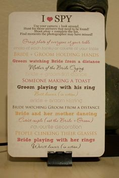 This is an adorable idea. Makes for a lot of good wedding pictures for everyone to enjoy!