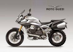 Best Dual Sport Motorcycle Concept: MOTO GUZZI VETTA 1200 BAGs